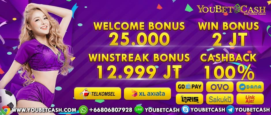 Permainan Judi Casino Online Yang Banyak Bonus